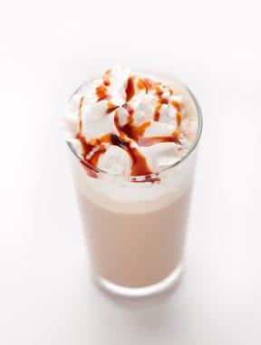 Frappuccino Vegano de Caramelo