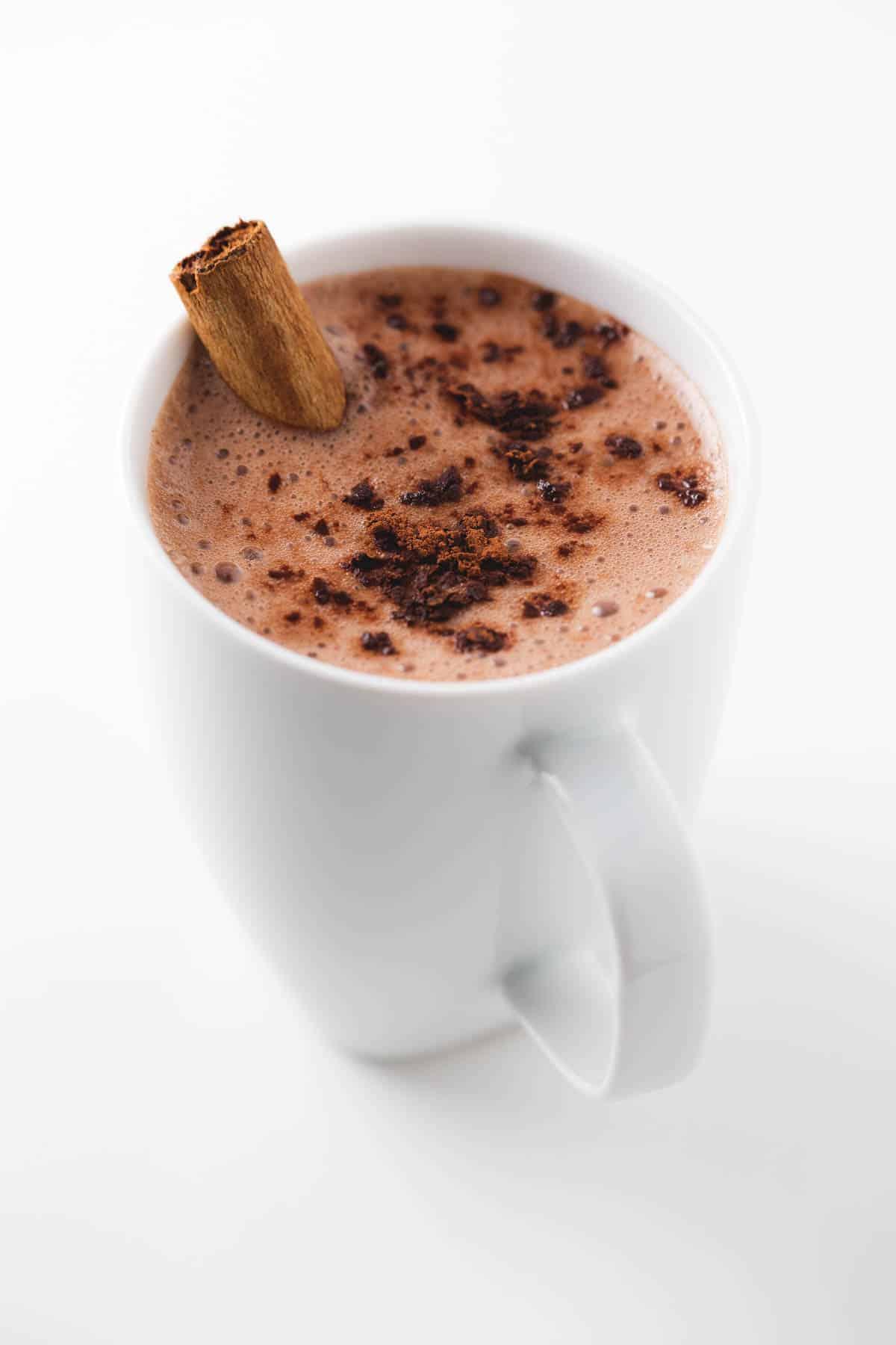 Chocolate Caliente Vegano
