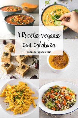 9 Recetas Veganas con Calabaza