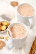 Latte de Jengibre. - El latte de jengibre es una bebida muy sencilla, rica y reconfortante. Es un sustituto saludable al café y se prepara en un momento.
