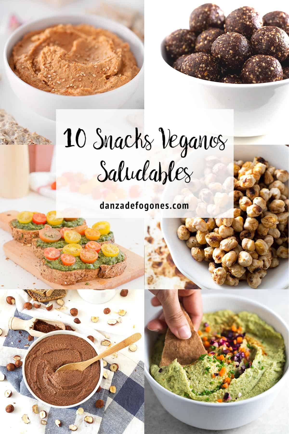 snacks saludables faciles de preparar