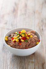 """Frijoles Refritos Veganos (Sin Grasa).- Hemos preparado una versión más saludable, vegana y sin grasa de los populares frijoles """"refritos"""" mexicanos. Es una receta muy simple, pero está de vicio."""