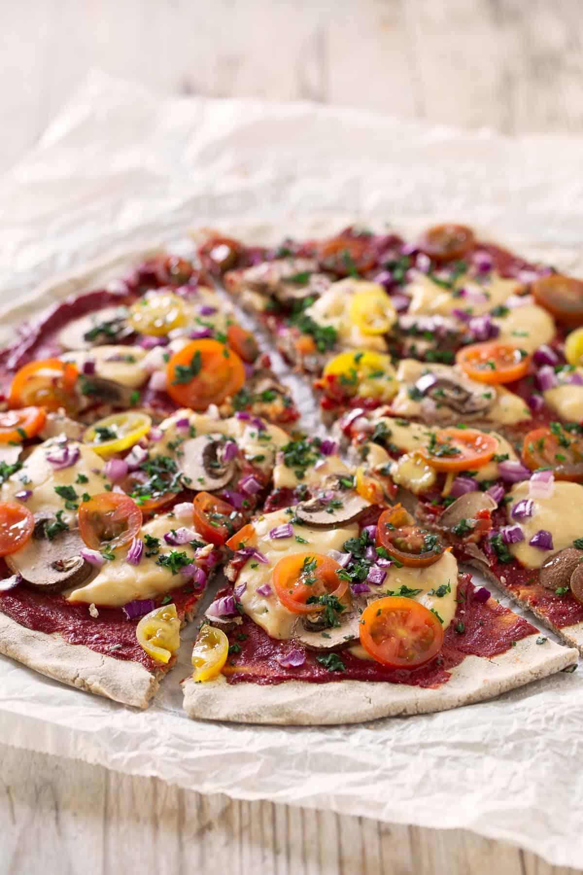 Mozzarella Vegana Baja en Grasa.- No sé cómo me gusta más comer esta mozzarella vegana baja en grasa, si fría o caliente. Está deliciosa en pizzas y con pan y es la más sana que he probado.