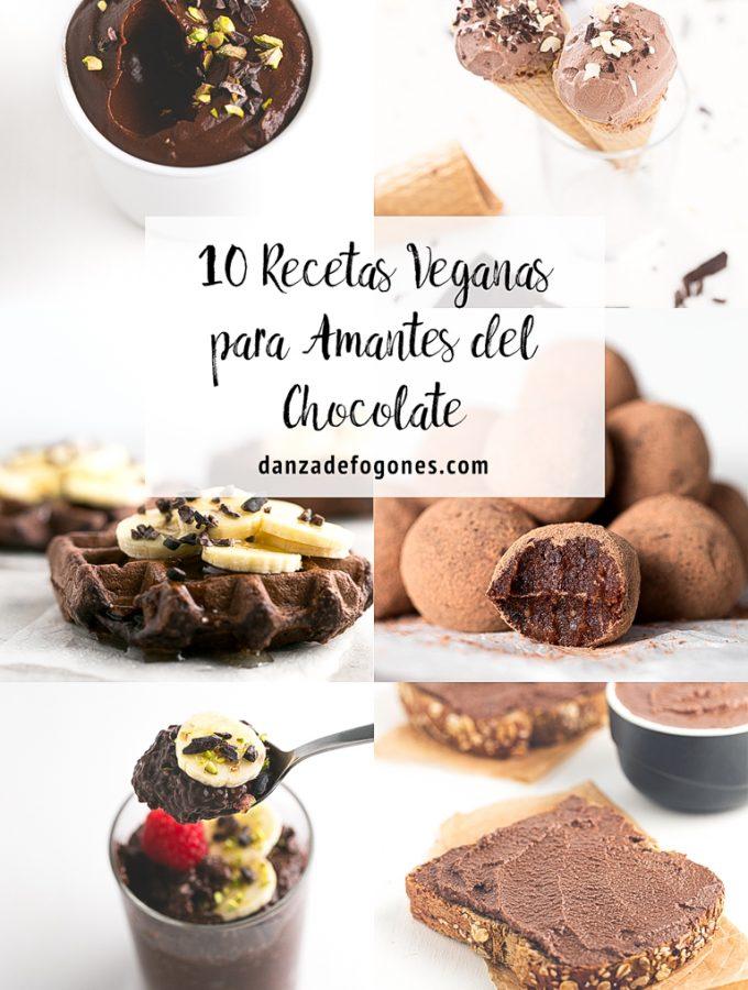 10 Recetas Veganas Para Amantes del Chocolate