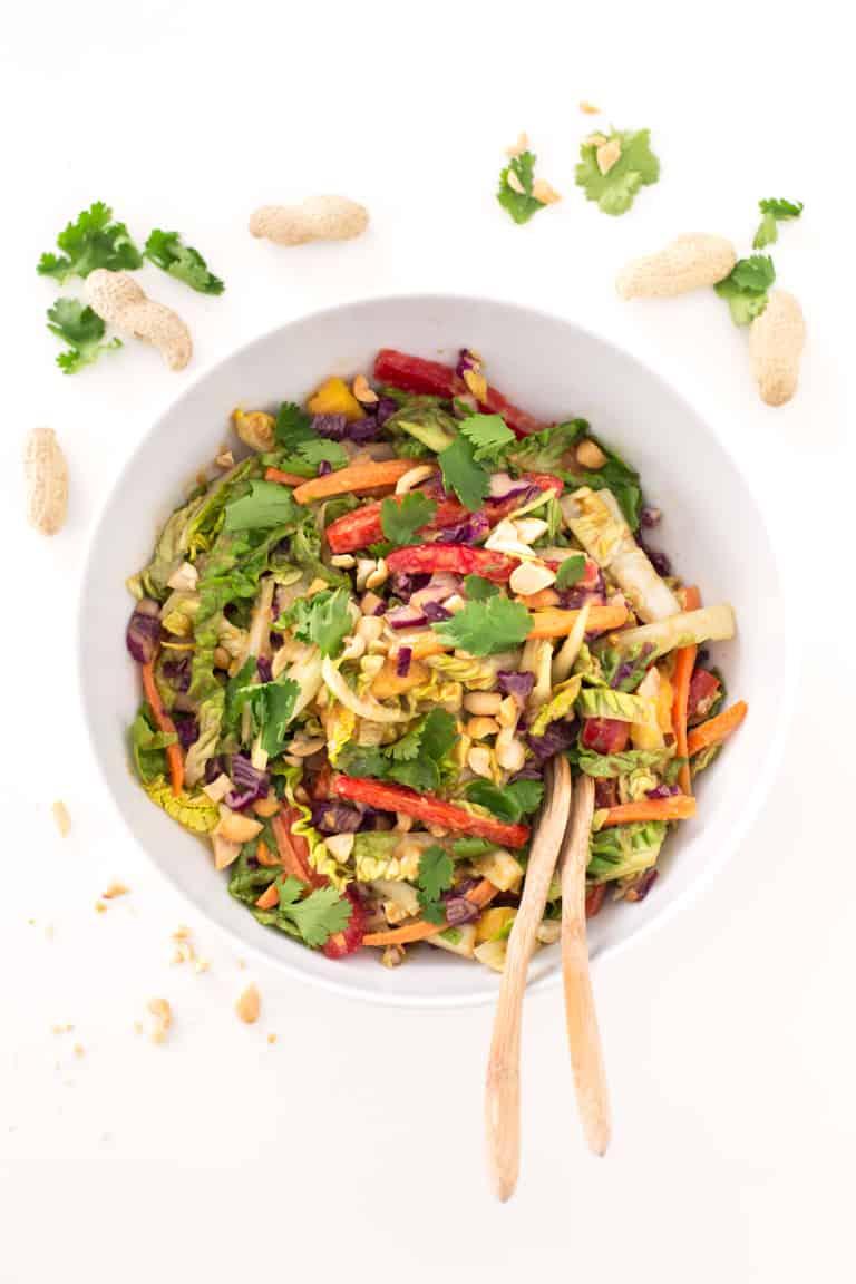 Ensalada Thai Vegana