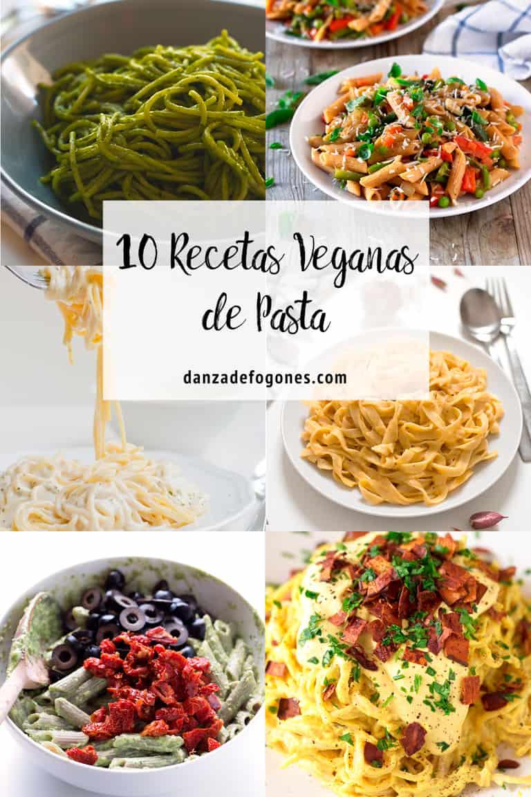 10 Recetas Veganas de Pasta