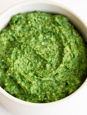 Pesto de Kale Vegano
