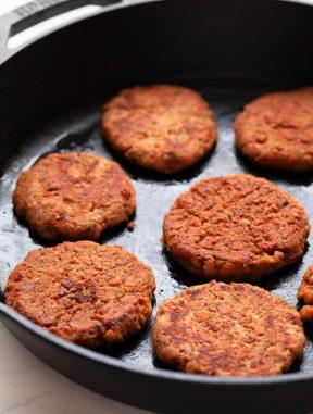 Salchichas Veganas de Desayuno