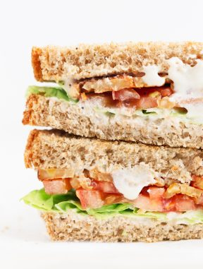Sandwich BLT Vegano