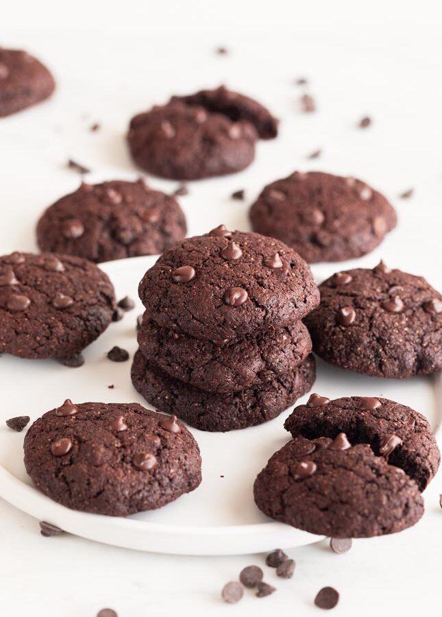 Galletas Veganas de Chocolate