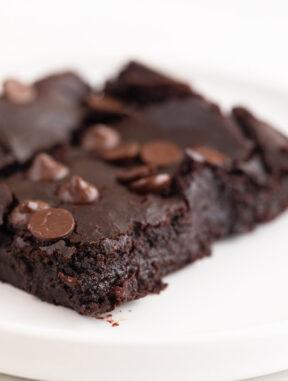Brownie de Alubias