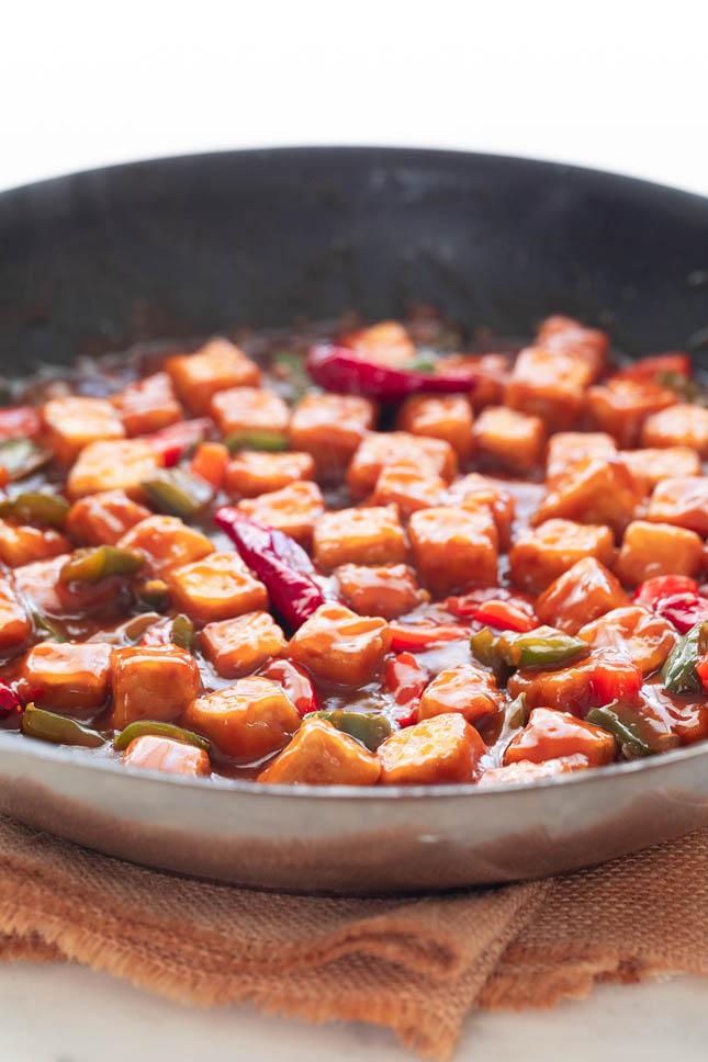 Tofu Kung Pao