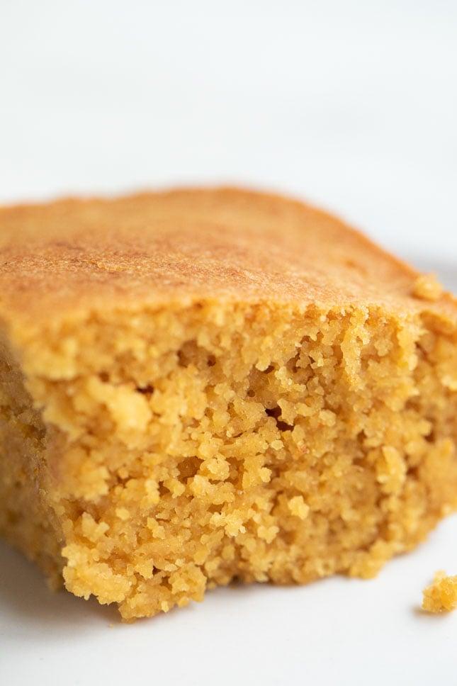 Pan de Maíz Vegano