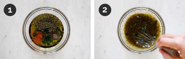 Fotos paso a paso de cómo hacer chimichurri